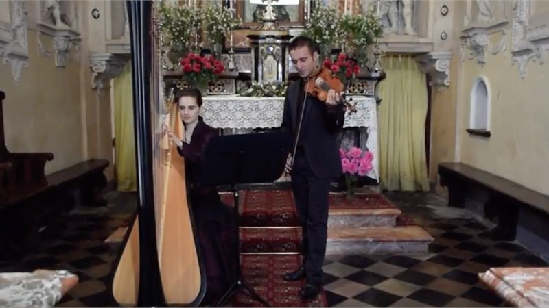 CAN YOU FEEL THE LOVE TONIGHT - DUO VIOLINO ARPA